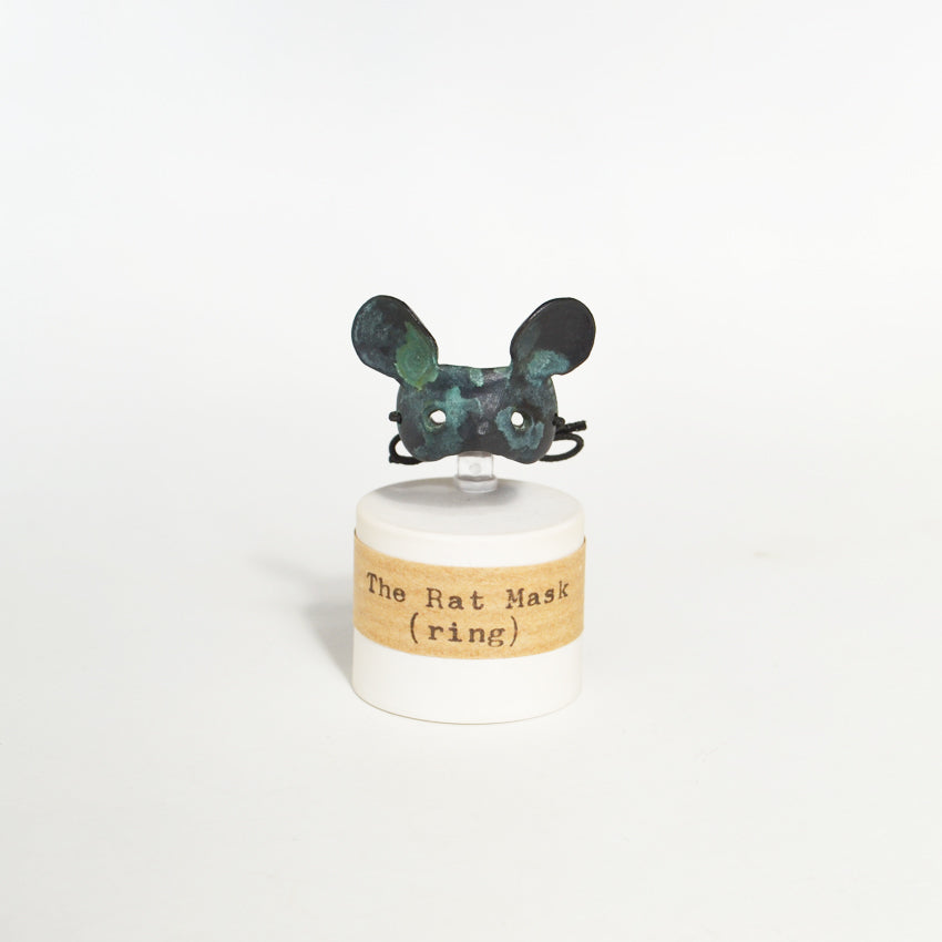 The Rat Mask ring