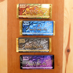 Loiza Organic Dark Chocolate