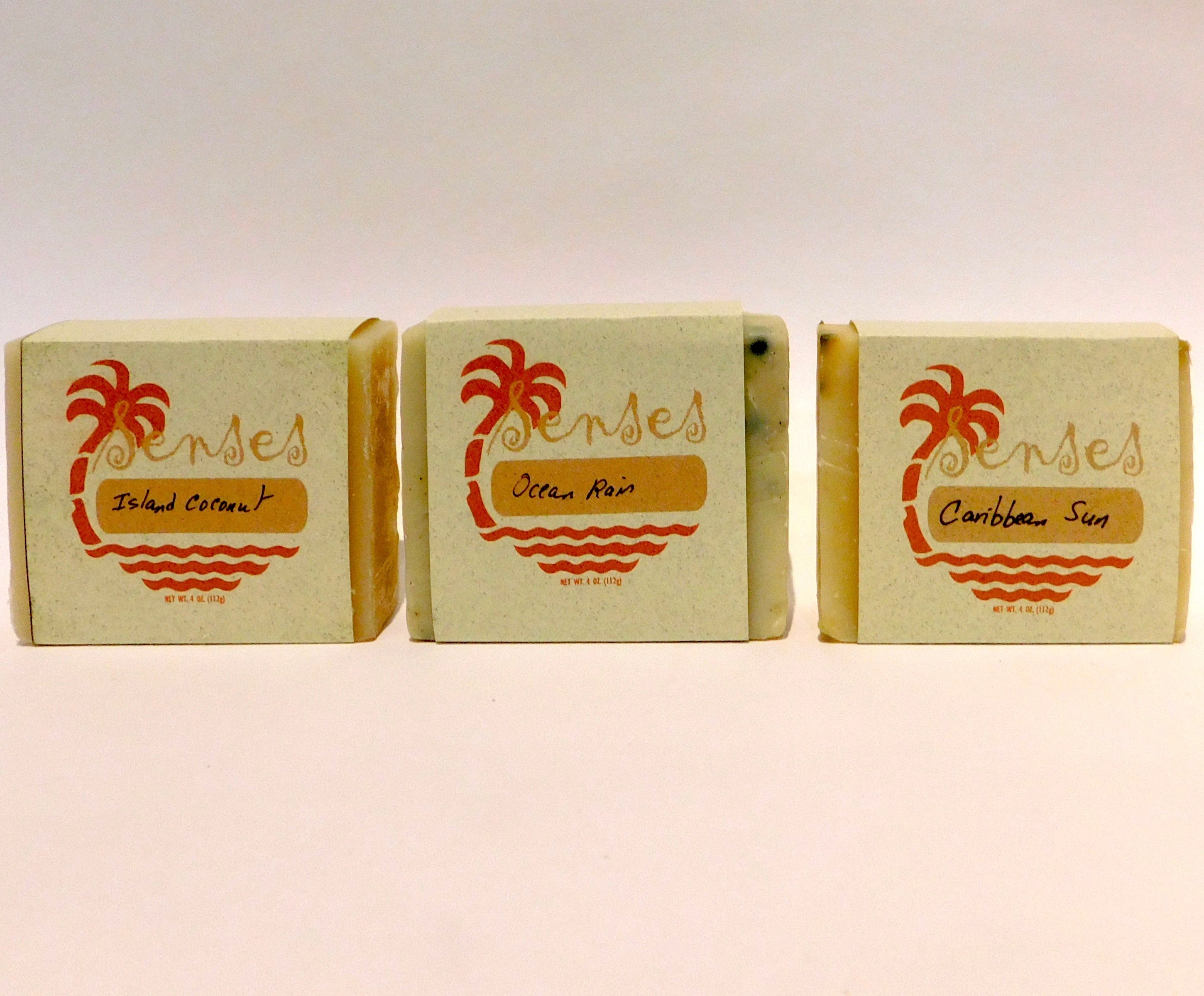 "Spicy Caribbee ""Senses"" natural botanical soaps"