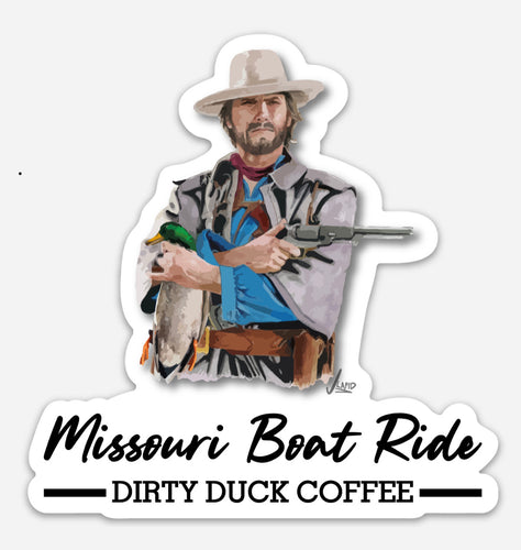 Missouri Boat Ride Decal