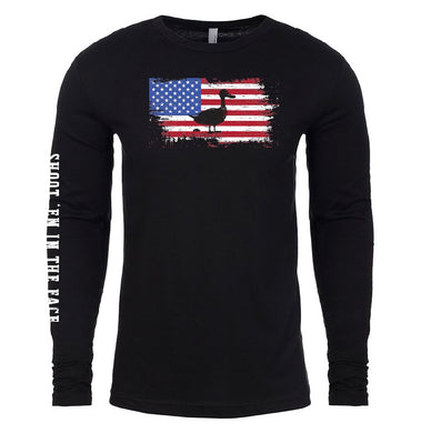 Old Glory Duck-Long Sleeve