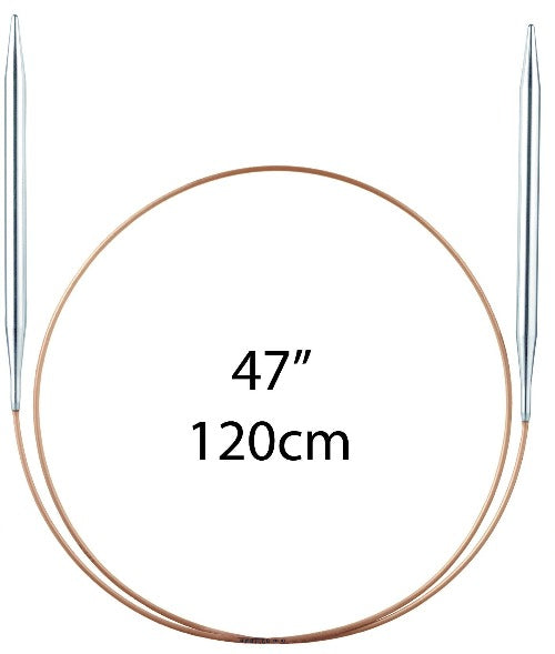 "Addi Fixed Circular Needles - 120cm (47"") - The Needle Store"