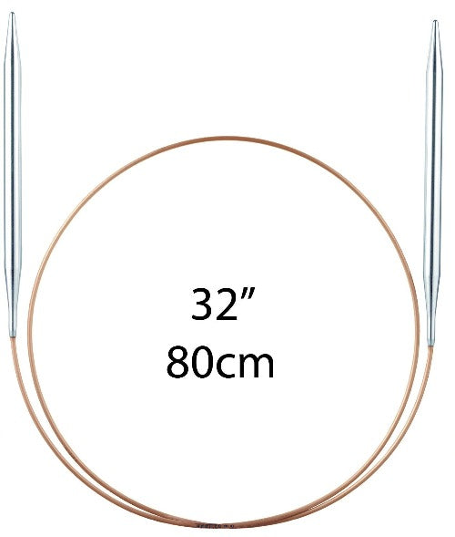 "Addi Fixed Circular Needles - 80cm (32"") - The Needle Store"