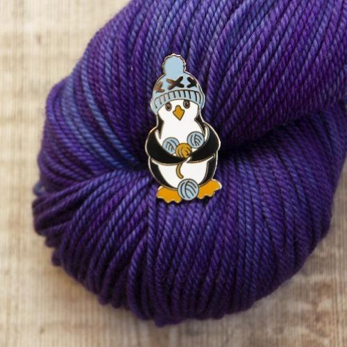 Aleks Byrd Pengwyn the Penguin Enamel Pin - The Needle Store