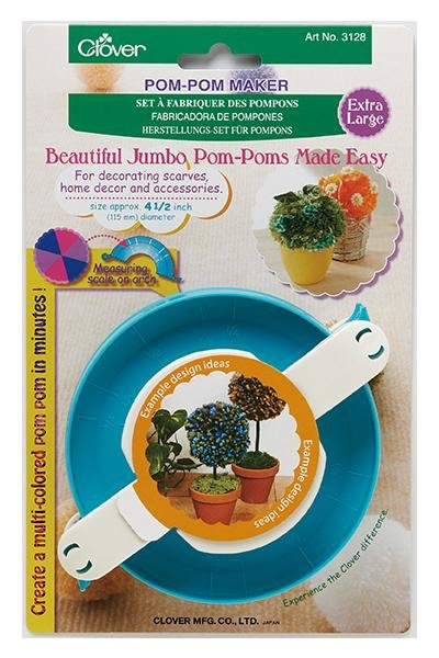 Clover Extra Large Pom-Pom Maker Kit - The Needle Store