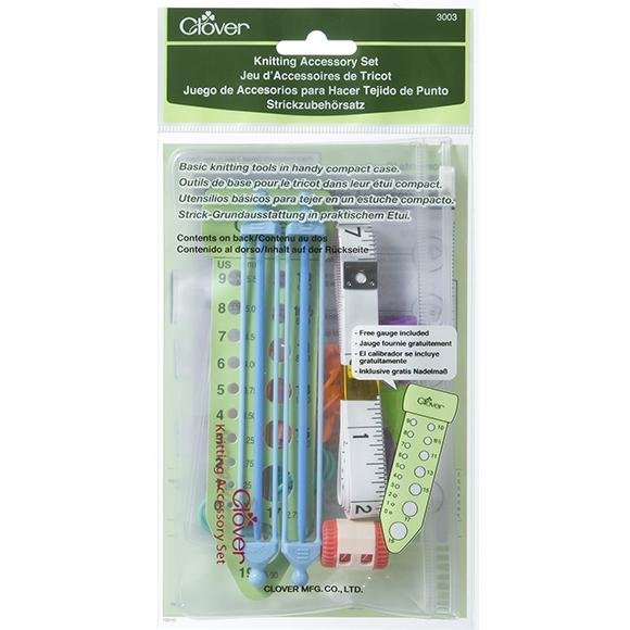 Clover Knitting Accessory Set - The Needle Store