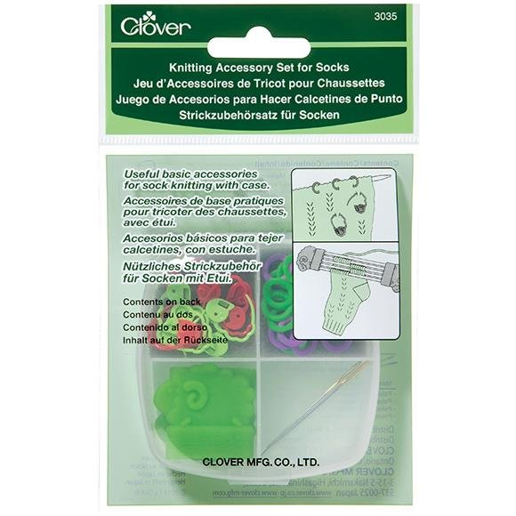 Clover Knitting Accessory Set for Socks - The Needle Store