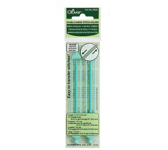 Clover Medium Double Ended Stitch Holder - The Needle Store
