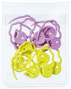 Clover Quick Locking Stitch Markers - Large - The Needle Store