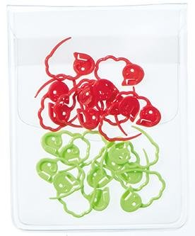 Clover Quick Locking Stitch Markers - Small - The Needle Store