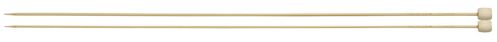 "Clover Takumi® 33cm (13"") Bamboo Single Pointed Needles - The Needle Store"
