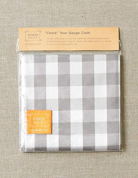 Cocoknits Check Your Gauge Cloth - The Needle Store