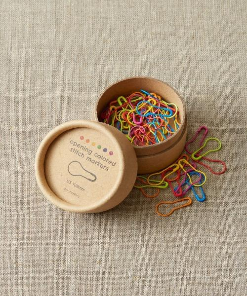 Cocoknits Coloured Opening Stitch Markers - The Needle Store