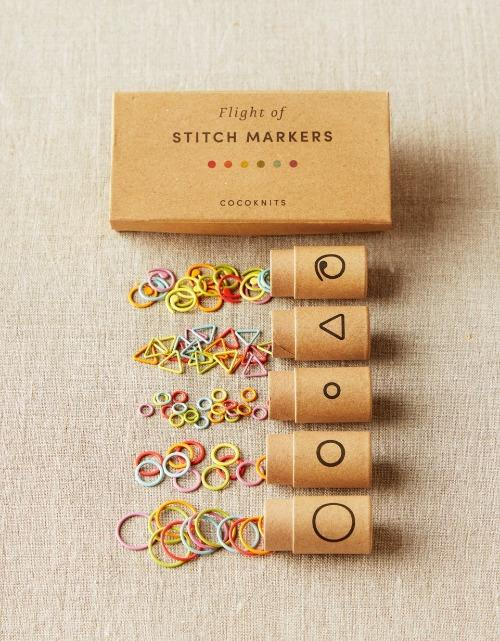 Cocoknits Flight of Stitch Markers - The Needle Store