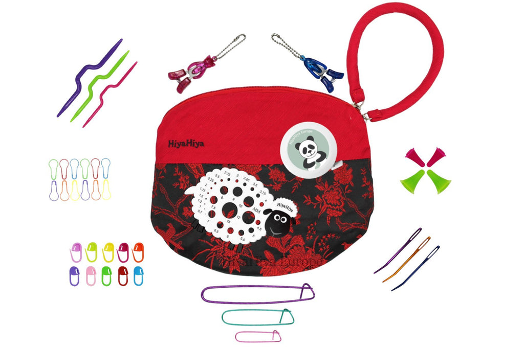 HiyaHiya Accessory Set B with Project Bag - The Needle Store