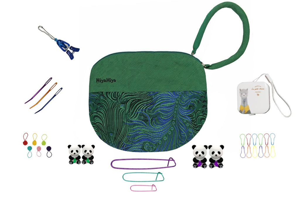 HiyaHiya Accessory Set D with Project Bag - The Needle Store