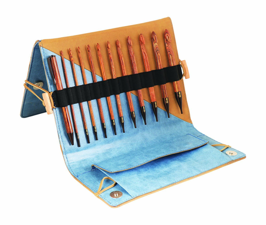 KnitPro Ginger Afghan/Tunisian Crochet Hook Set - The Needle Store