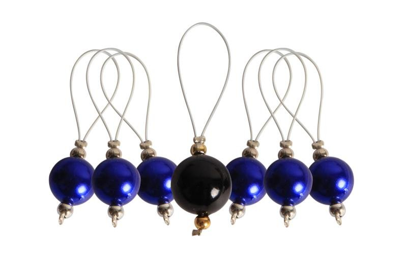 KnitPro Zooni Bead Stitch Markers - Bluebell - The Needle Store