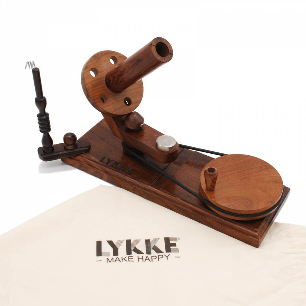 LYKKE Indian Rosewood Ball Winder - The Needle Store