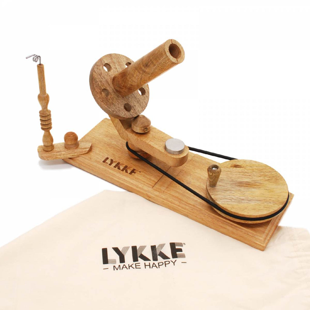 LYKKE Mango Wood Ball Winder - The Needle Store