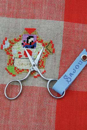 Sajou Charmes Chromed Embroidery Scissors - The Needle Store