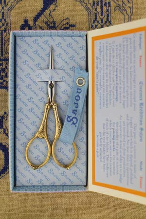 Sajou Langres Gilded Embroidery Scissors - The Needle Store