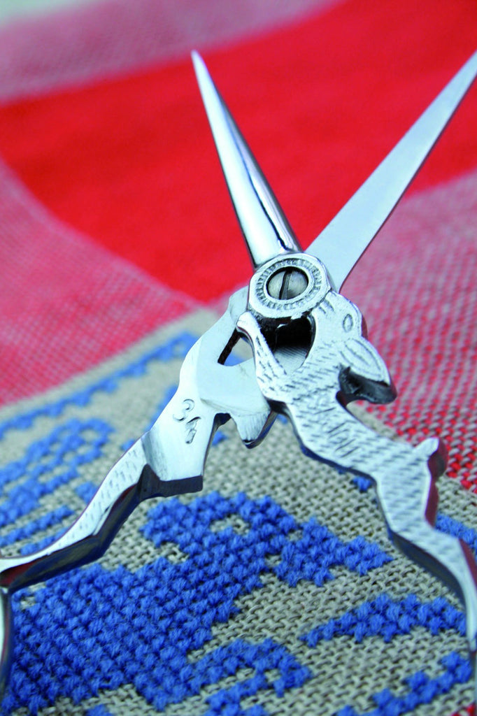 Sajou Lièvre Chromed Embroidery Scissors - The Needle Store