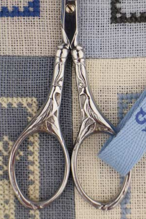 Sajou Paon Chromed Embroidery Scissors - The Needle Store