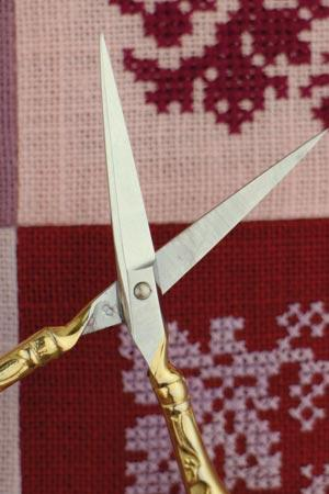 Sajou Paon Gilded Embroidery Scissors - The Needle Store