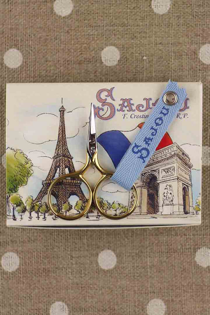 Sajou Petit Monstre Gilded Embroidery Scissors - The Needle Store