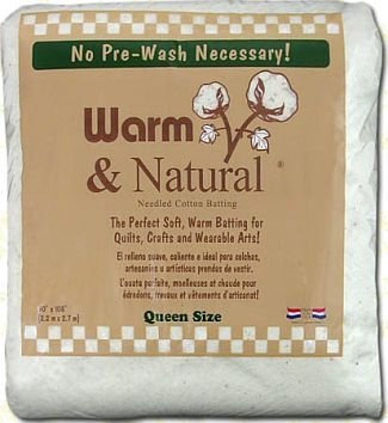 Warm and Natural Cotton Batting