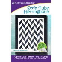 Load image into Gallery viewer, Strip Tube Herringbone by Cozy Quilt Design