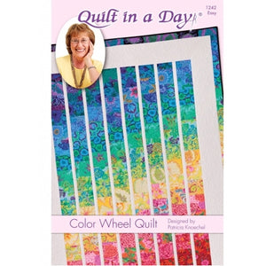 Color Wheel Quilt--Quilt in a Day