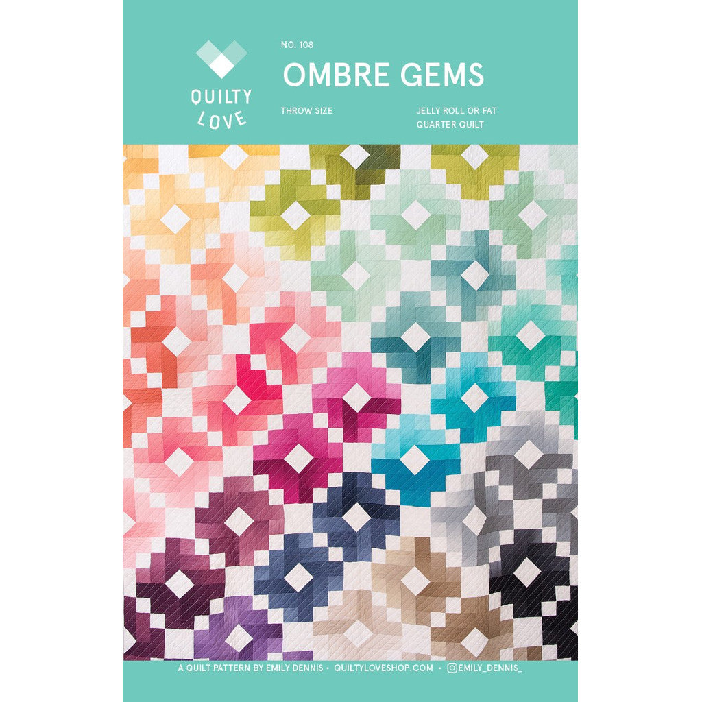 Quilty Love Ombre Gems