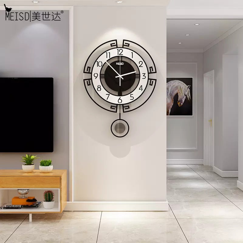 Stylish Pendulum Wall Clock