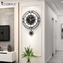 Load image into Gallery viewer, Stylish Pendulum Wall Clock