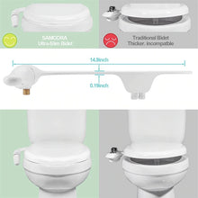 Load image into Gallery viewer, Adjustable Water Pressure Self-Cleaning For Toilet Seat