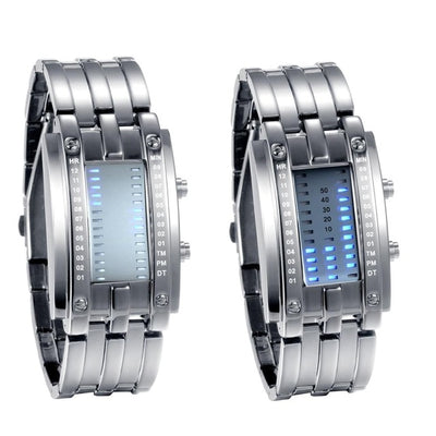 Luxury Binary System LED Display Watches