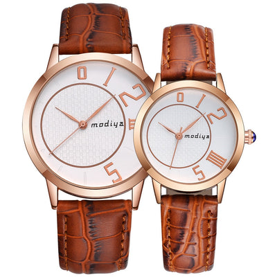 Couple Dress Quartz Watch