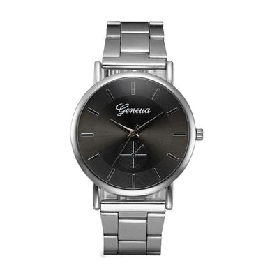 Silver Luxury Stainless Steel Watch