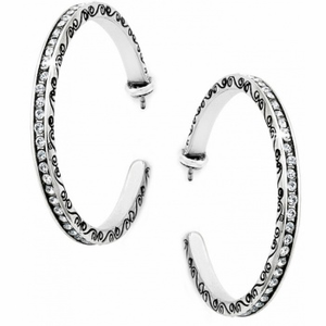 J16302 | Secret Of Love Hoop Earrings