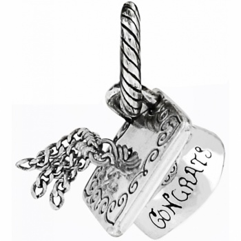J92102 | ABC Graduation Cap Charm