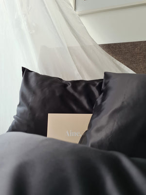 2-PIECE SET PURE SILK PILLOWCASE