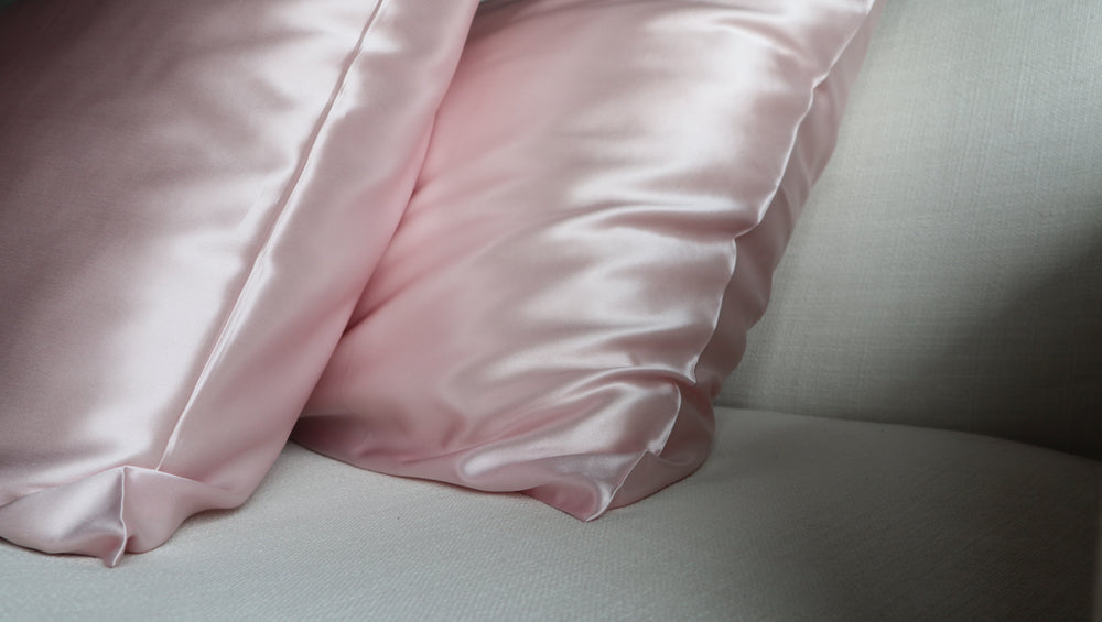 Blush Pure Silk Pillowcase