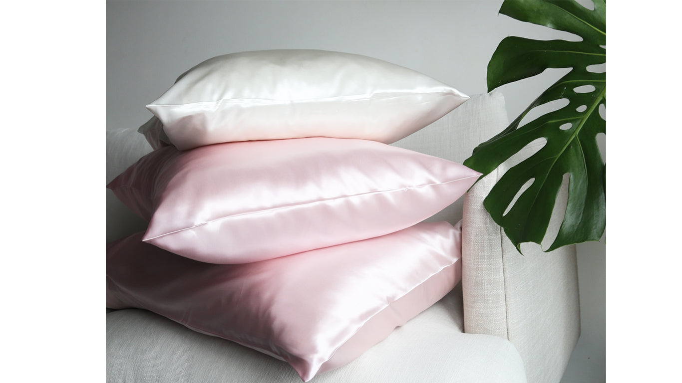 Petal Blush Pure Silk Pillowcase