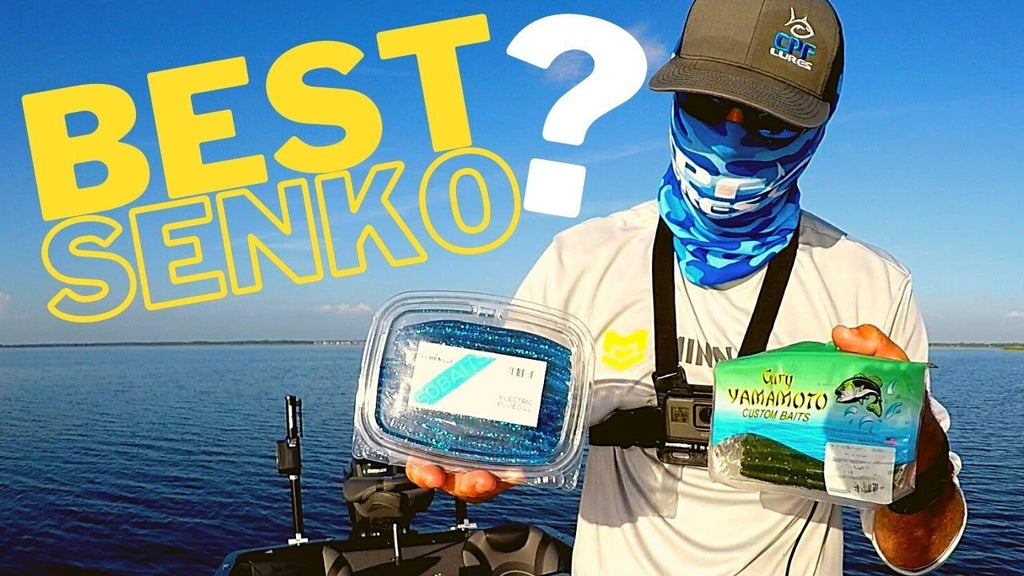 Who Makes the Best Senko? Yamamoto Senko vs. CPF Lures Stickler Pro