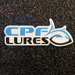 CPF Lures Vinyl Sticker