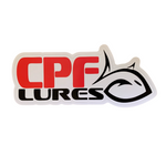 "CPF Lures 3""x7.5"" Vinyl Decal"