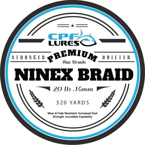 NINEX Braid 20lb 320 yards
