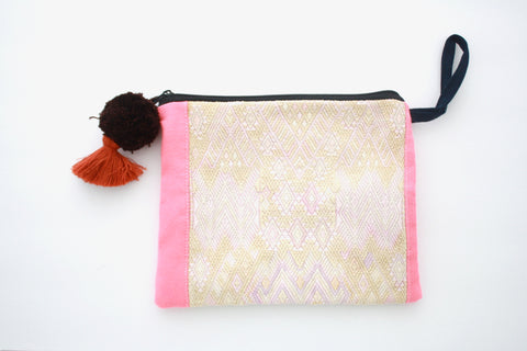 Huipil Cosmetic Bag-Palmita